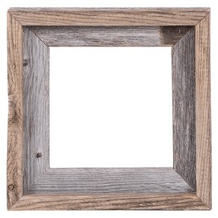 Fonzie Barn Wood Reclaimed Wood Open Picture Frame