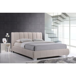 Baxton Studio Queen Upholstered Platform Bed by Wholesale Interiors
