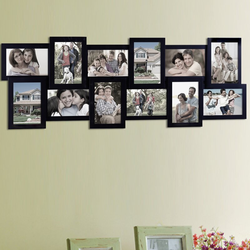 AdecoTrading 12 Opening Collage Picture Frame & Reviews | Wayfair