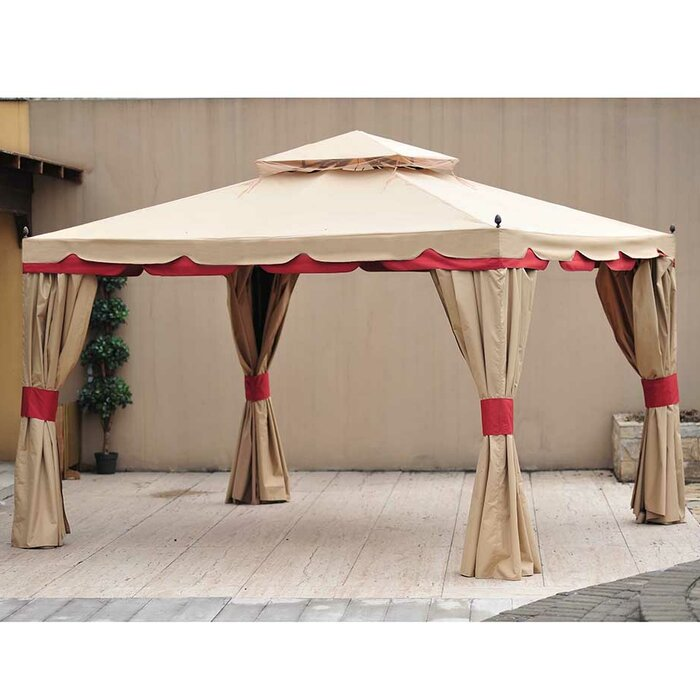 Replacement Canopy For 10 W X 12 D Benen Gazebo
