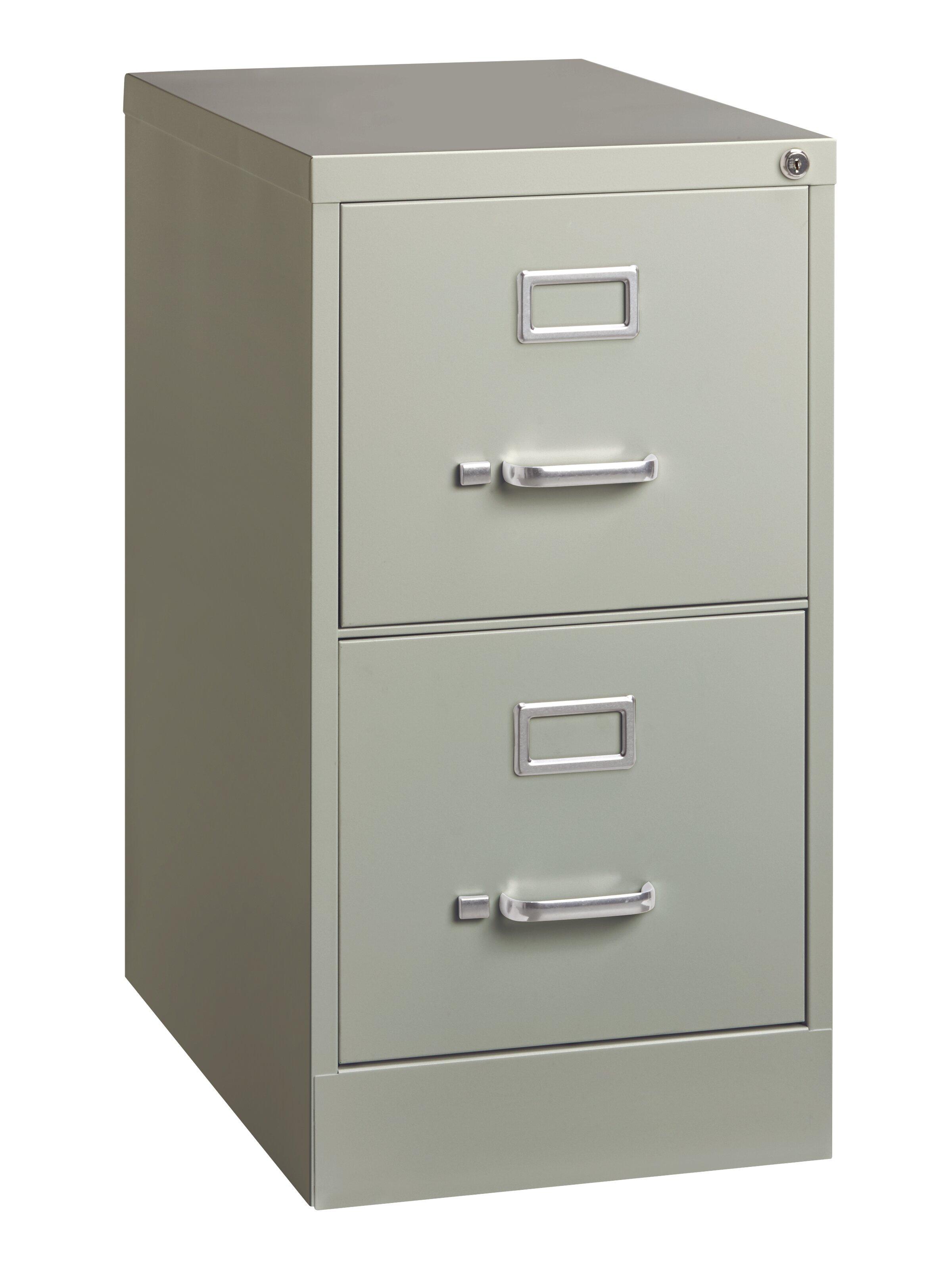Kist 2 Drawer Vertical Filing Cabinet