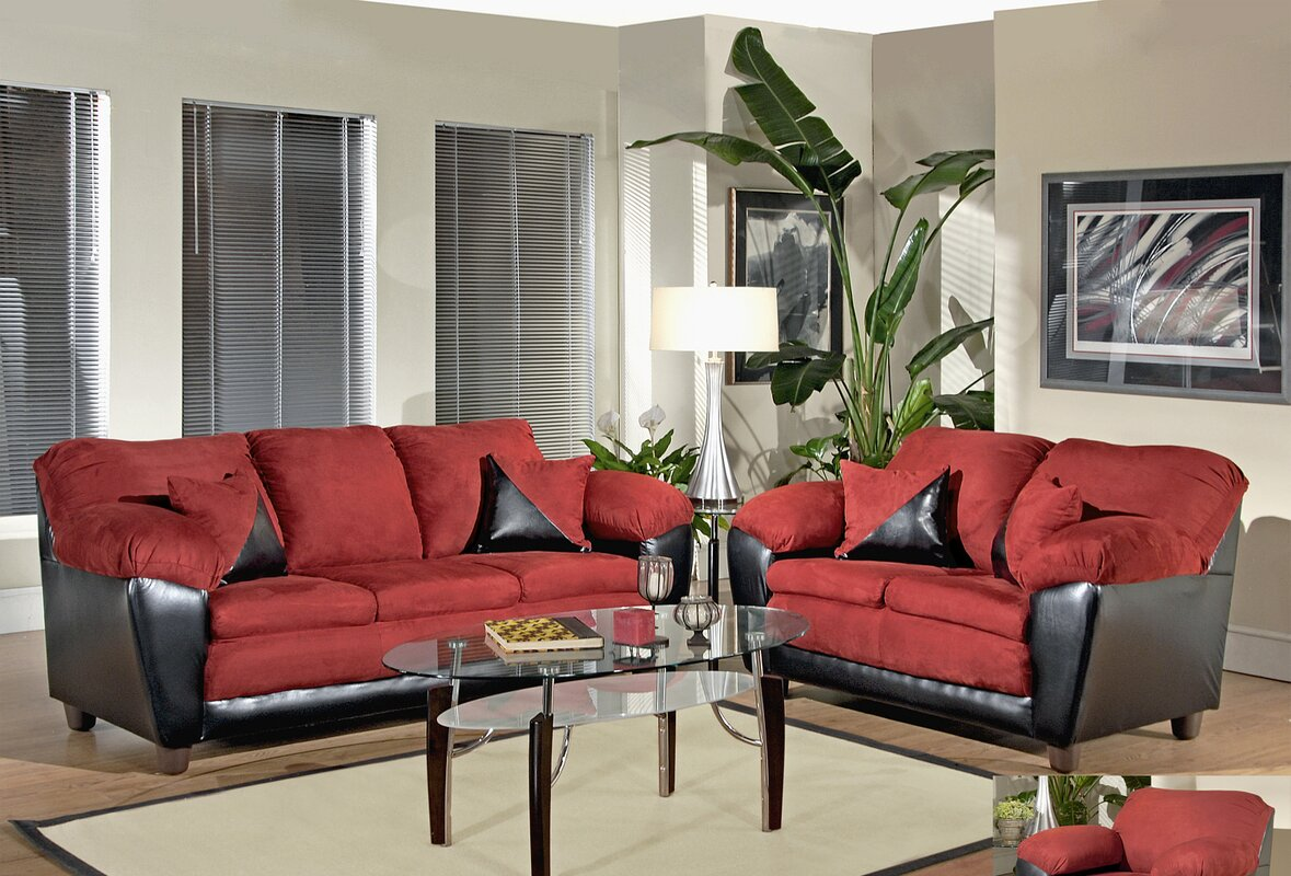 Piedmont Furniture Brooklyn Configurable Living Room Set & Reviews ...