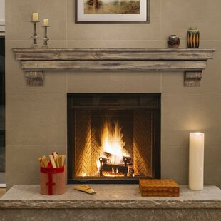 49 Inches To 60 Inches Fireplace Mantels You Ll Love Wayfair