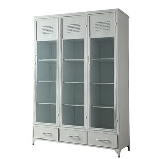 Kallas Metal Locker China Cabinet Best