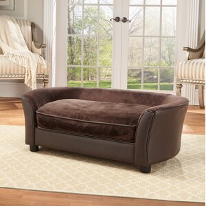 Cora Dog Sofa with Storage Pocket