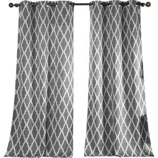 Modern Contemporary 100 Inch Length Curtains