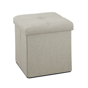 Tindall Folding Storage Ottoman by Andover Mills