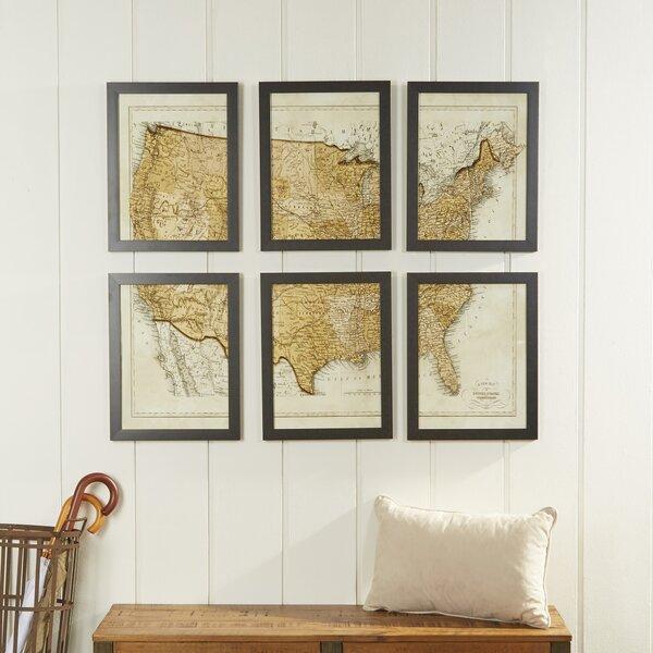 Usa Map Wall Art | Wayfair