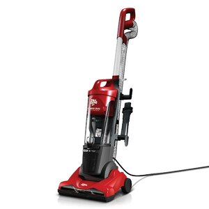 Power Duo Carpet and Hard Floor Cyclonic Upright Vacuum