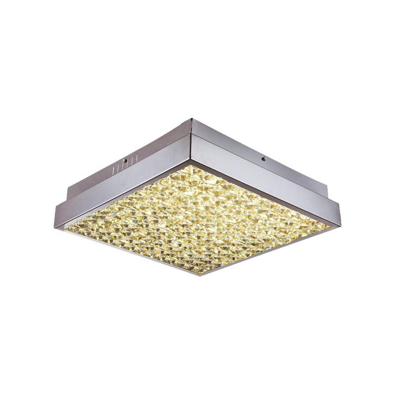 Rosdorf Park Jovanny LED Flush Mount