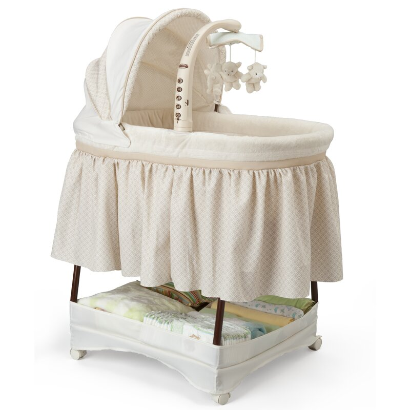 Simmons Kids Elite Gliding Bassinet Wayfair