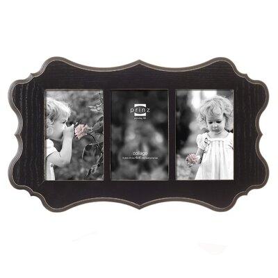 Prinz 3 Opening Annabelle Ashwood Veneer Wood Picture Frame   Wayfair
