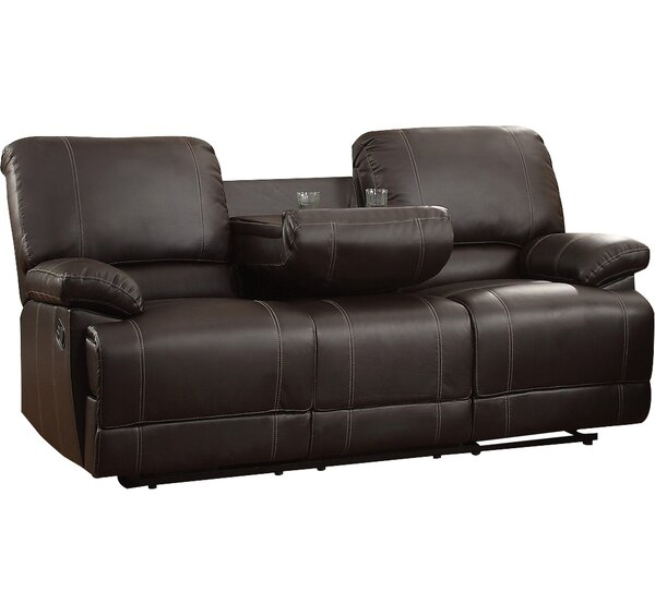 Andover Mills Edgar Double Reclining Sofa Amp Reviews Wayfair
