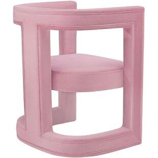 Ordinaire Hot Pink Velvet Chair   Wayfair