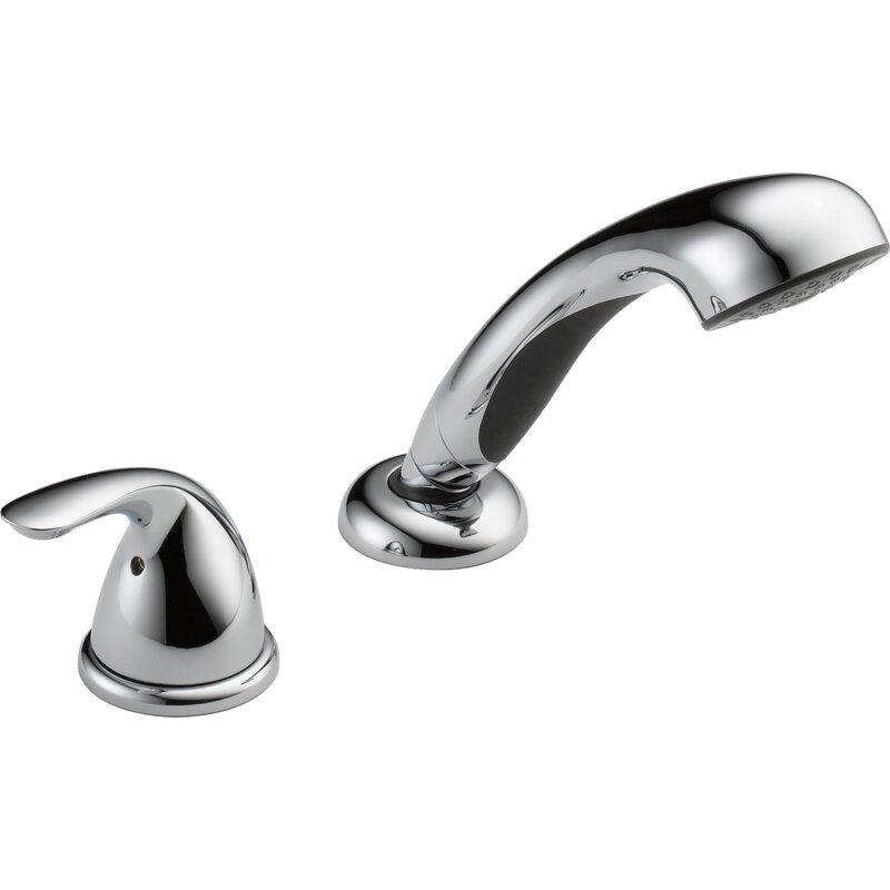 Rp14979 Delta Classic Single Handle Deck Mount Roman Tub Faucet