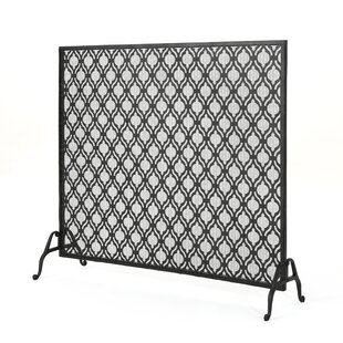 metal wrought com accessories large gate dp iron panel decorative fireplace screen place gold black ornate fire amazon standing