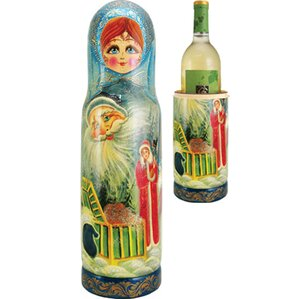 Russia Fairy 1 Bottle Taletop Wine Rack by G Debrekht