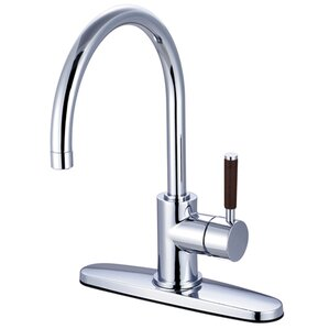 Kingston Brass Wilshire Gourmetier Single Handle Kitchen Faucet