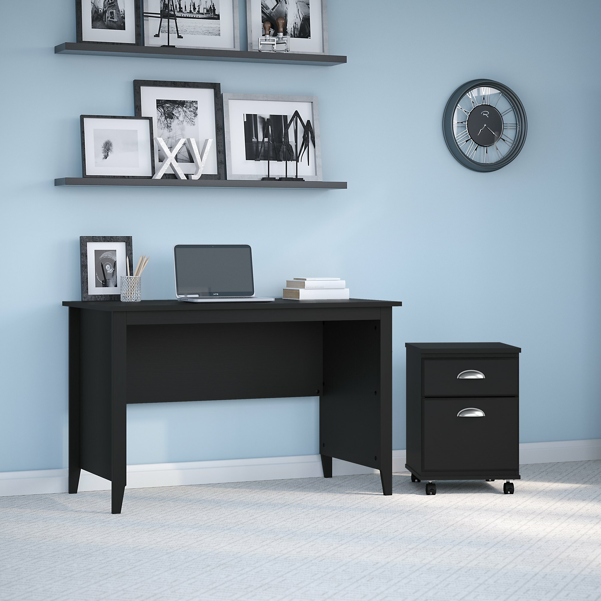 Kathy Ireland Home By Bush Furniture Connecticut 48w Writing Desk Wayfair