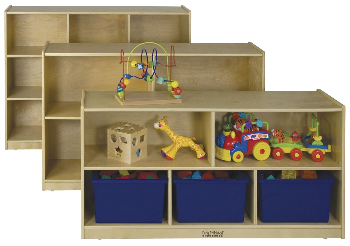 Ecr4kids Stackable 5 Shelving Unit With Casters Amp Reviews