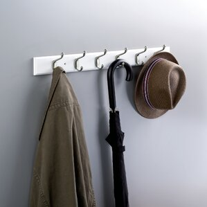 Wall Coat Hooks wall mounted coat racks & hooks you'll love | wayfair