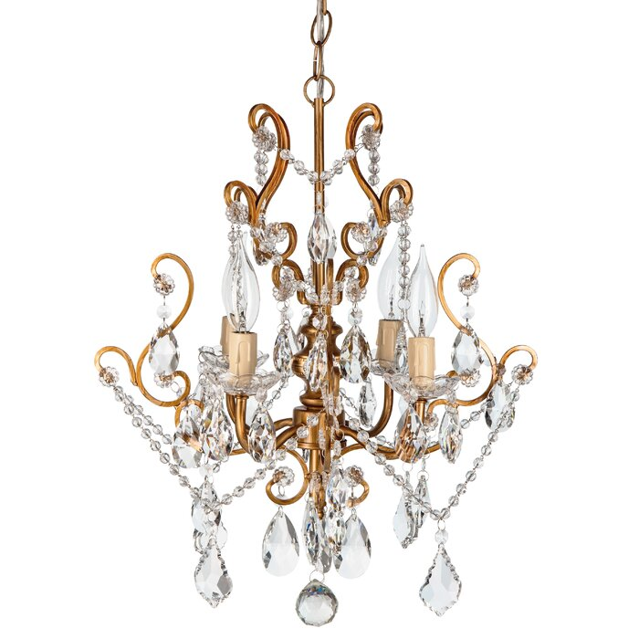 Flemington 4 Light Candle Style Chandelier