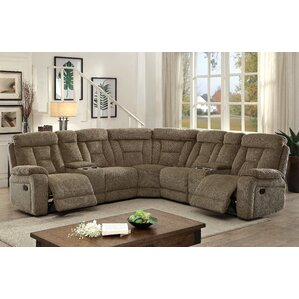 Webb Reclining Sectional b..