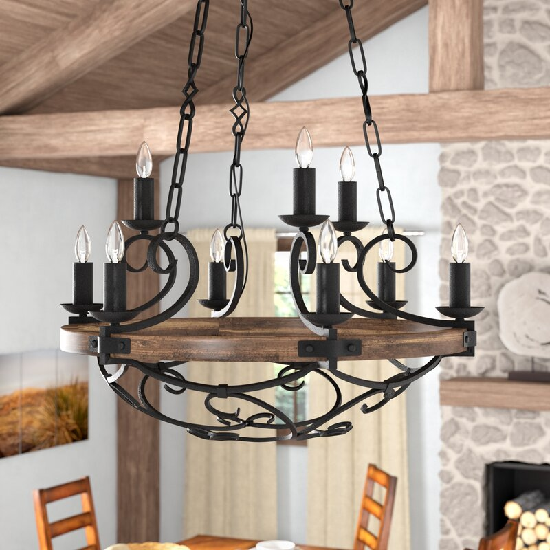 The Peak Of Très Chic Kitchen Light: Loon Peak Cowan 9-Light Candle Style Chandelier & Reviews