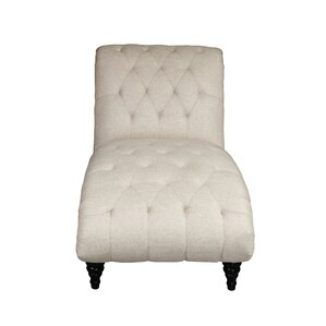 Forestport Traditional Rolled Back Chaise Lounger with Diamond Shaped Tufting by Alcott Hill