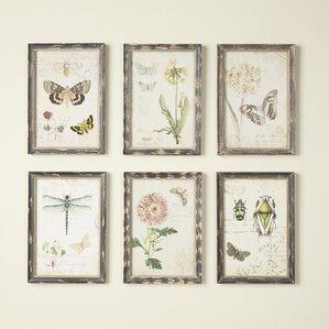 Gardener Wall Art (Set Of 6)