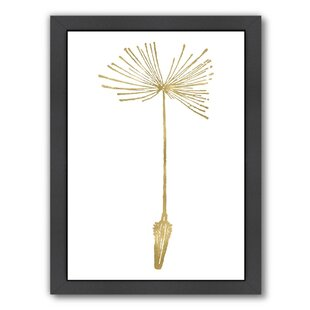 Dandelion 1 Framed Graphic Art
