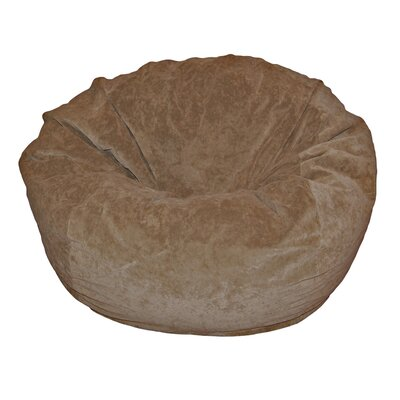 Ahh! Products Bean Bag Chair Upholstery: Cocoa