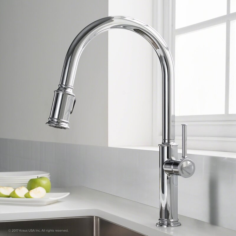 Sellette Pull Down Single Handle Kitchen Faucet