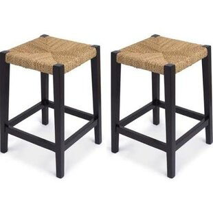 Rush Weave 24 Bar Stool (Set of 2)