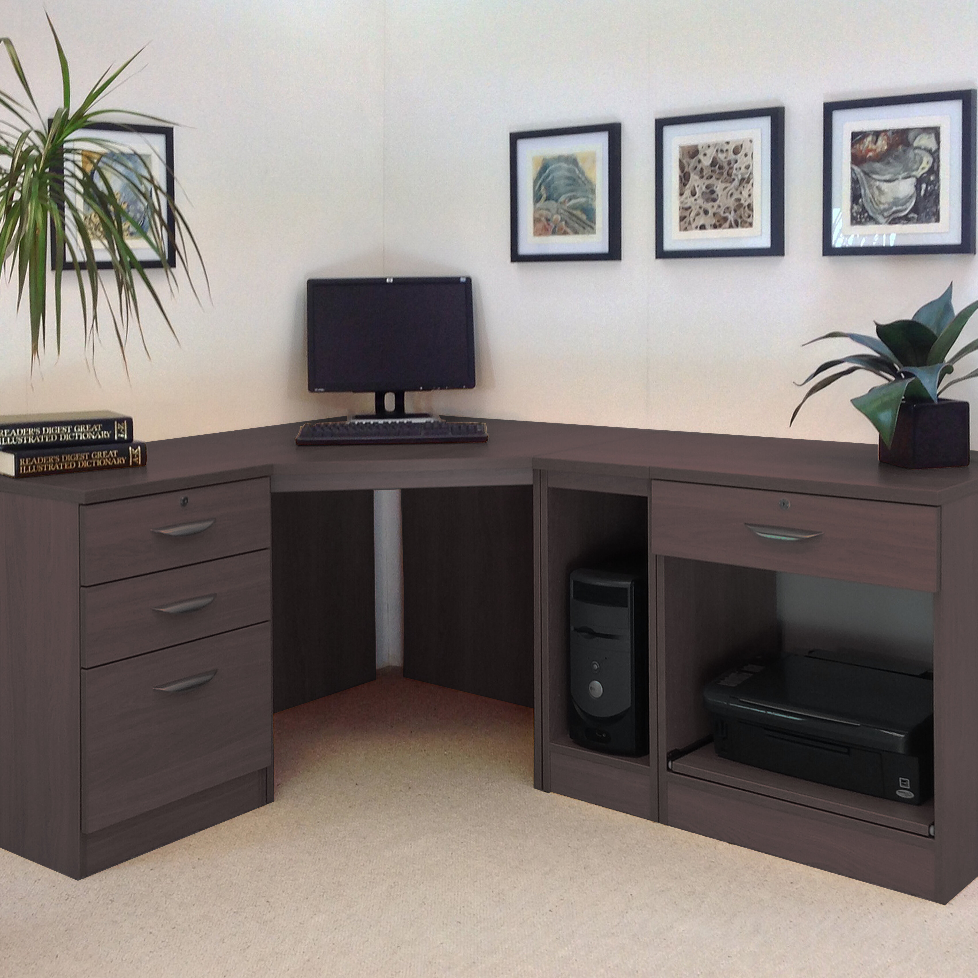 cherry product filing wood and with rolltop chairish desk cabinet