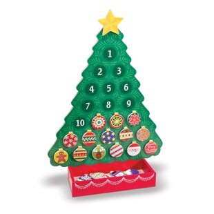 countdown to christmas wooden advent calendar - Wooden Christmas Advent Calendar