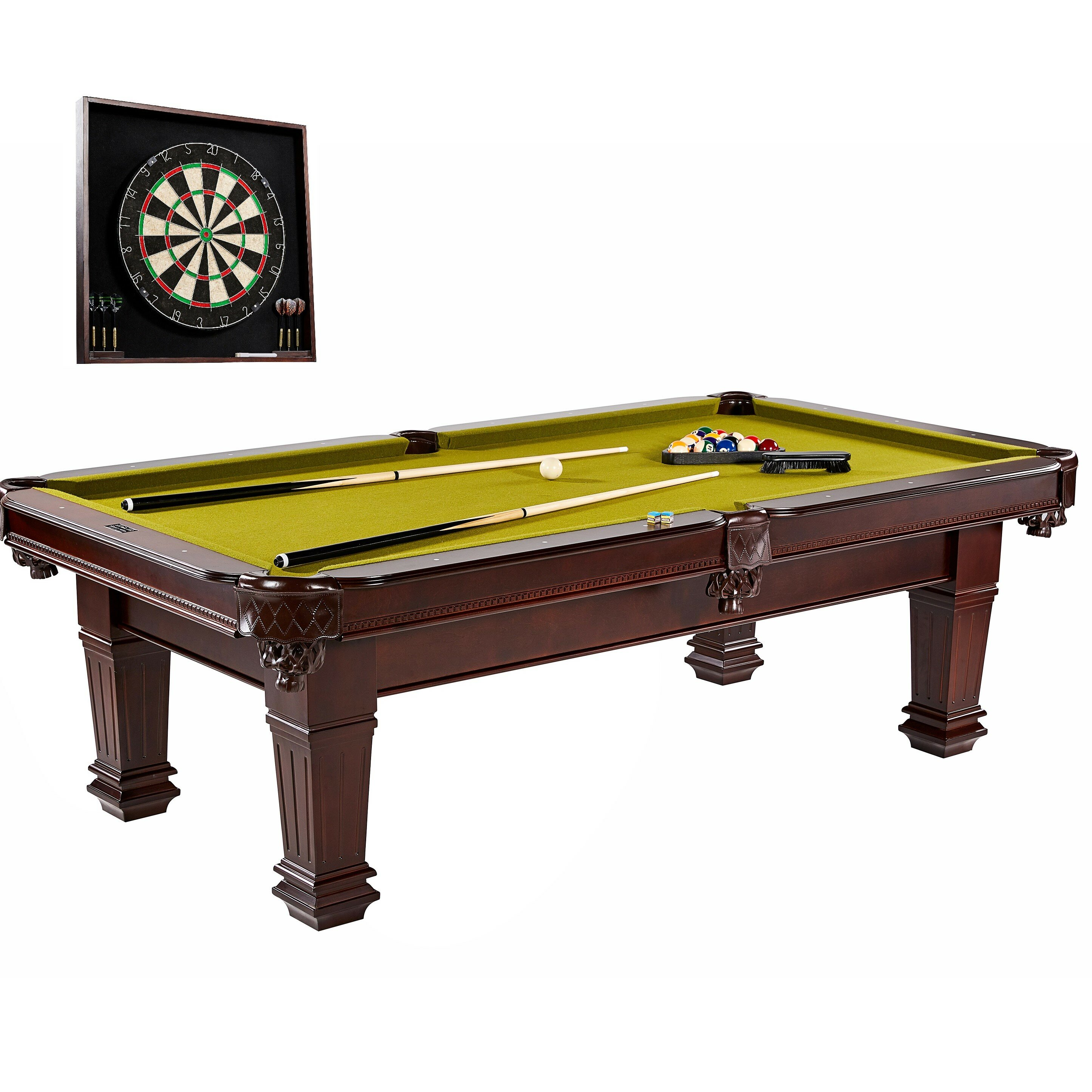 Barrington Billiards Company Hatherley Pool Table With - Pool table cabinet
