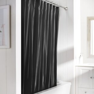 Black Shower Curtain Liners Youll Love