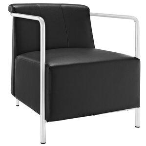 Ebb Vinyl Armchair by Modway