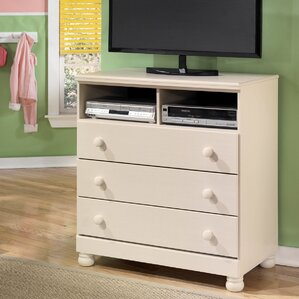 Carey 3 Drawer Media Chest by Signature Design by Ashley
