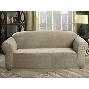 Box Cushion Sofa Slipcover by Red Barrel Stu..