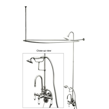 clawfoot tub and shower package.  Clawfoot Tub Shower Package Wayfair