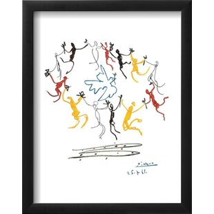 U0027The Dance Of Youthu0027 By Pablo Picasso Framed Graphic Art Print
