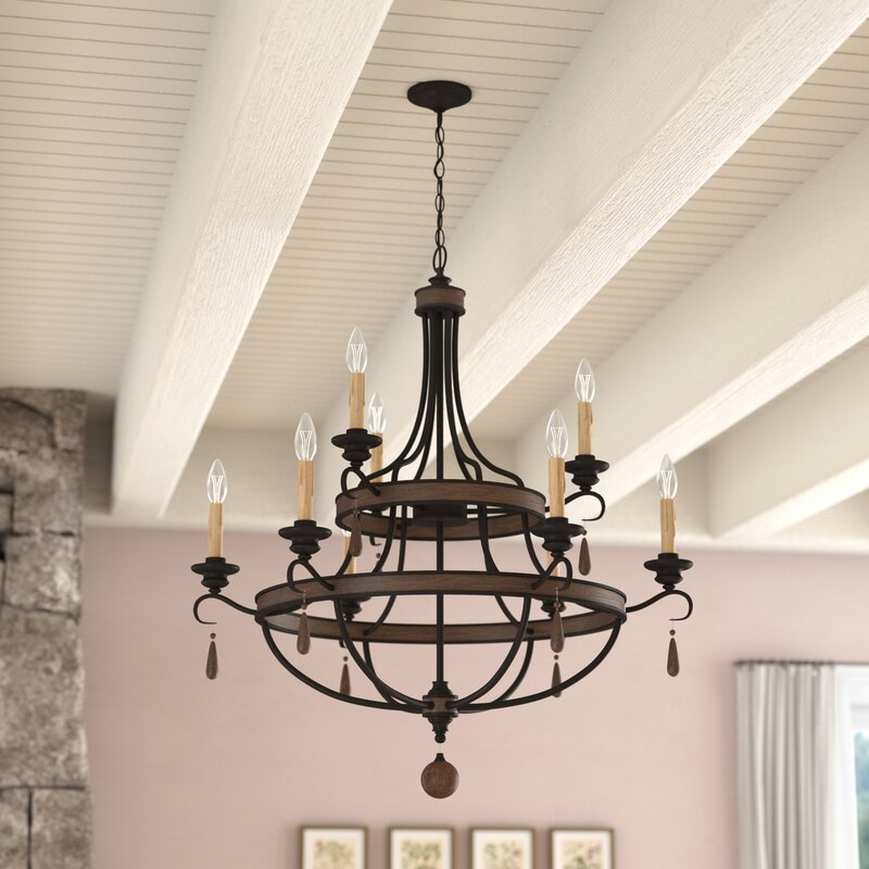 Jamesburg 9-light Chandelier