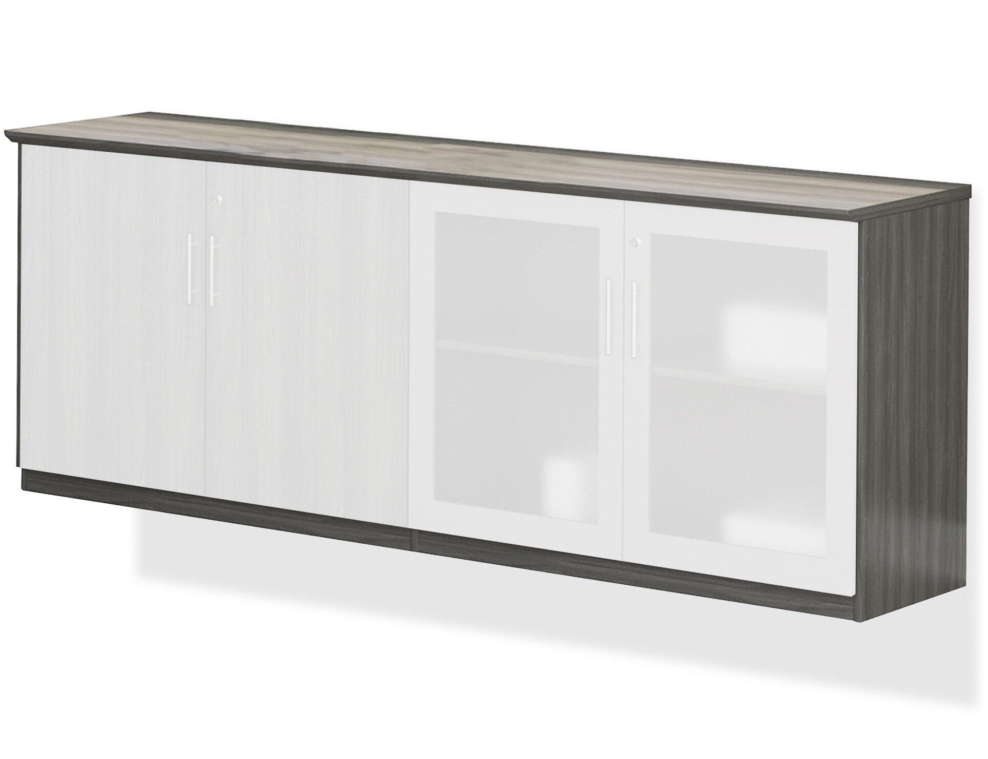Elegant Mayline Medina Low Wall Storage Cabinet   Wayfair