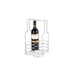 4 Bottle Tabletop Wine Rack by Chenco Inc.