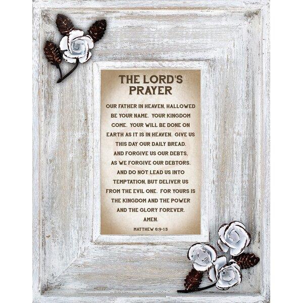 Serenity Prayer Frame   Wayfair