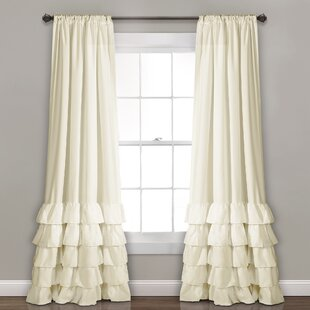 White Shabby Chic Curtains