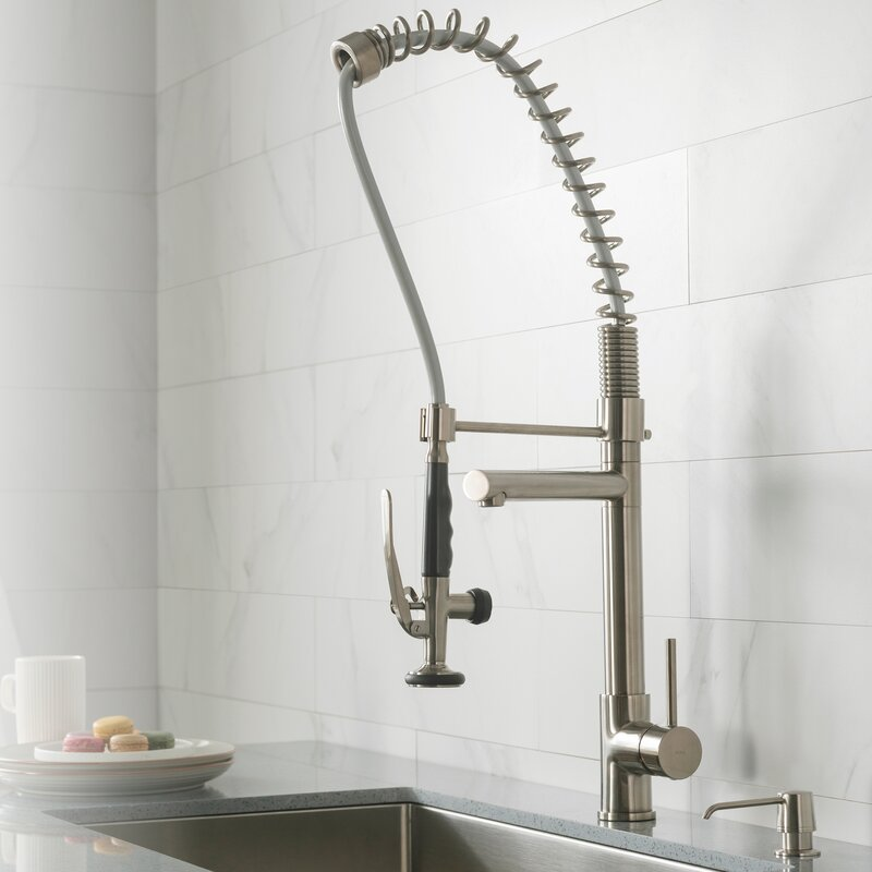 pull out kitchen mixer single handle kitchen faucet - Pull Out Kitchen Faucet