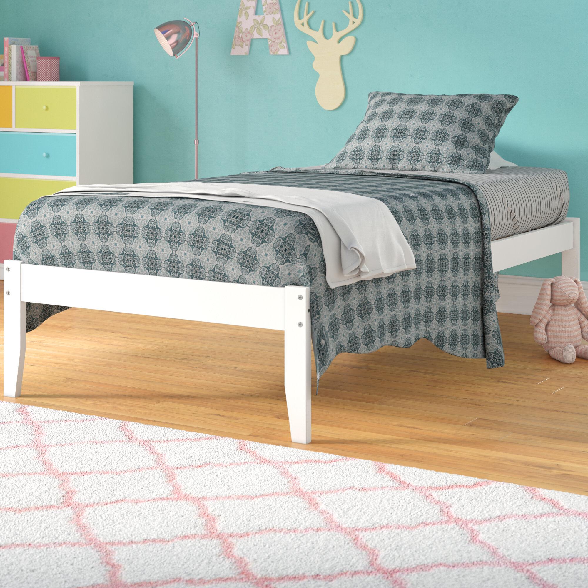 Andover Mills Mackenzie Extra Long Twin Platform Bed Reviews Wayfair